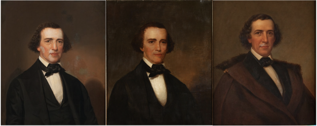 Three APS portraits of Robert Patterson