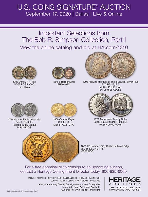 Heritage E-Sylum ad 2020-08-30