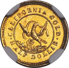 1853 50C Arms of California 50 Cents, BG-435, Low R.5, MS65 NGC_Heritage_Auctions_2