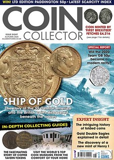 Coin Collector Issue 8 cover