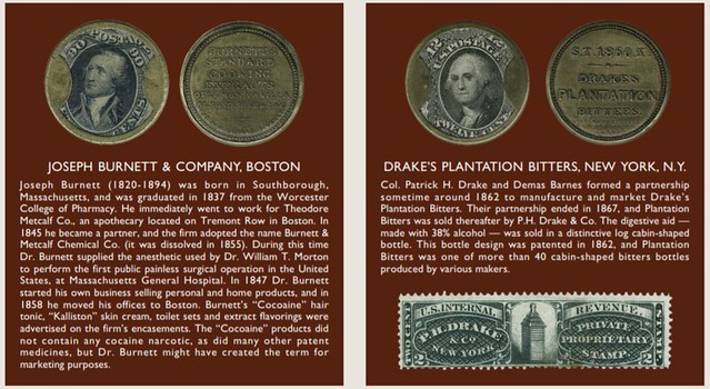 Dauer Collection Burnett and Drake Encased Postage Stamps