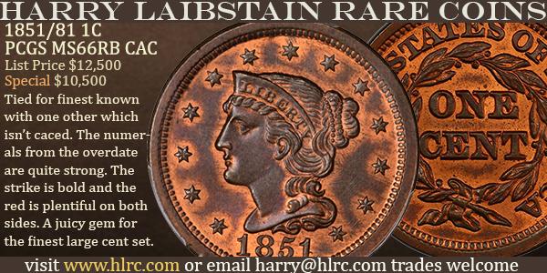HLRC E-Sylum ad 2020-09-06 1851 Cent