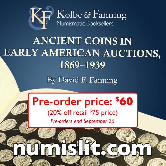 Kolbe-Fanning E-Sylum ad Ancient Coins v2 book