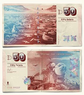 Trash Isles 50 Debris note