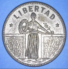 Standing Liberty Quarter style game counter