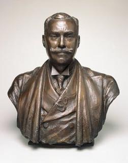 Victor David Brenner bust of Samuel P. Avery, Jr.