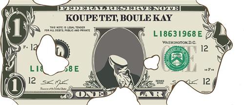 Steven Montinar Koupe Tet, Boule Kay money art
