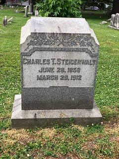 Charles T. Steigerwalt gravestone