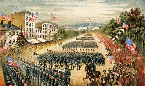 Grand Review of the Armies at the end of the Civil War
