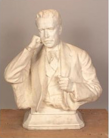 Victor David Brenner bust of Isaac Drummond