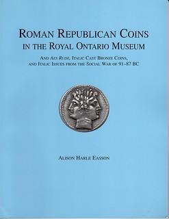 Roman Republican Coins in the Ontario Museum book cover