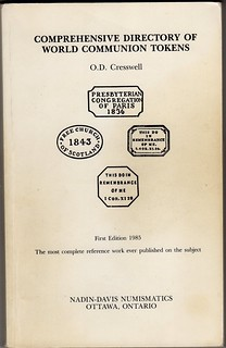 Cresswell Communion Tokens book cover