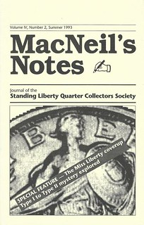 MacNeil's Notes Summer 1993 cover