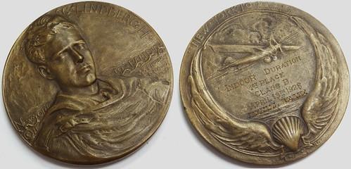 Engraved Lindbergh Medal