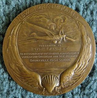 Lindbergh Hinton Medal Engraved 3