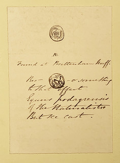 evans_fairholt_1864_letter_3_on_pastedown_1864