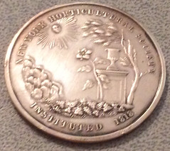 New York Horticultural Society medal obverse