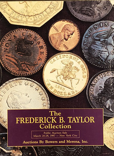 Frederick Taylor sale catalog cover