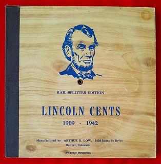 Rail Splitter Lincoln Cent album1s