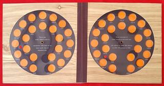 Rail Splitter Lincoln Cent album 3s