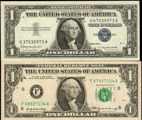 $1 Mismatched Serial Numbers