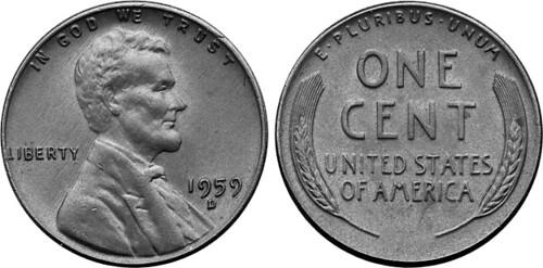 1959 D 1c Hoffman Mule