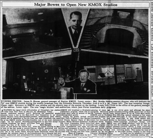 Major Bowes to Open New KMOX Studios_ St. Louis Globe-Democrat, 10.18.1936 p57