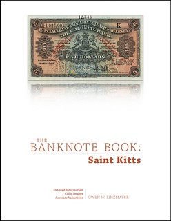 Banknote Book St. Kitts cover