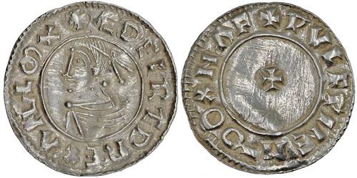 3. Rare Aethelred II penny