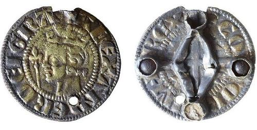 Alexander III Five Wounds of Christ Penny