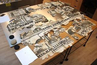 Circus poster conservation