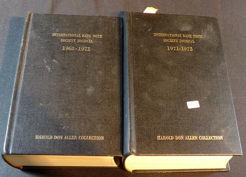 Don Allen IBNS Journal volumes