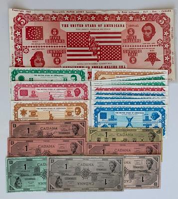 Don Allen Reversible Money Concept Notes