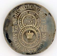 Don Allen Australian Historical Medal reverse