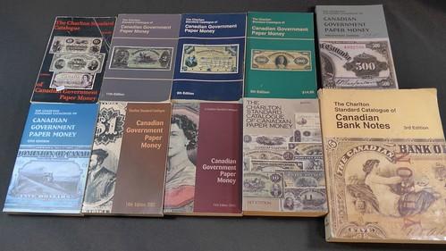 Don Allen Paper Money Catalogue Lot
