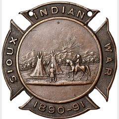 1891 Sioux Wars Medal