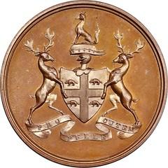 Hudson's Bay Company Indian Peace Medal reverse