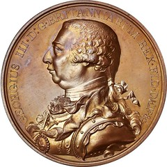 Hudson's Bay Company Indian Peace Medal obverse