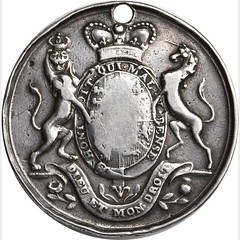 George III and Queen Charlotte Medal reverse