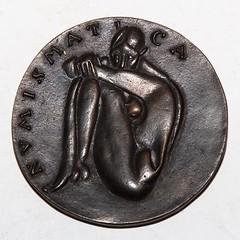Verein für Münzkunde Nürnberg centennial medal obverse