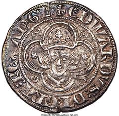 Edward I (1272-1307) Groat (4 Pence) ND (1279-1307) AU50 NGC_Heritage_Auctions_1