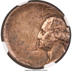 No_Date_25C_Silver_Washington_Quarter_40_Off_Center_Reverse_Brockage_AU58_NGC_Heritage_Auctions_1