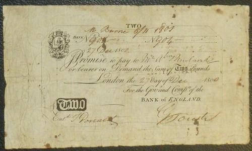 4 Newland £2 1800