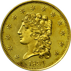 Harry Bass Collection gold coin