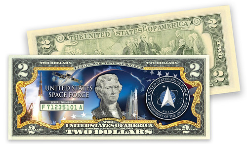 Space Force $2 Bill