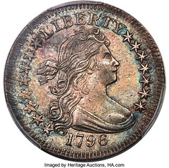 Storck 1796 Draped Bust Quarter obverse