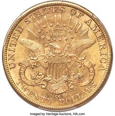 Storck 1882-CC Double Eagle reverse