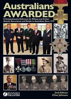 Australians Awarded book cover