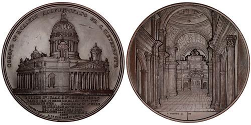 St. Isaac's Metropolitan Church medal