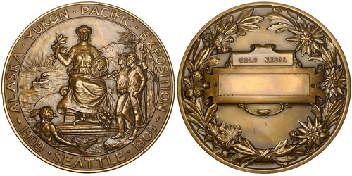 Alaska–Yukon–Pacific Exposition medal